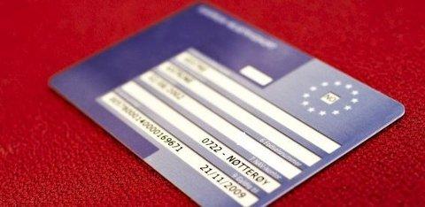 Alle som ferierer utenfor Norge bør ha dette kortet med seg.