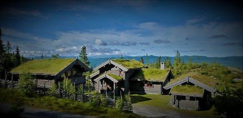 EVENTYRTUN: Dette hyttetunet ble bygd i 2013, og er nå lagt ut for salg.  L&F Eiendom AS inviterer til visning på Lørdag og har allerede hatt en del private visninger.