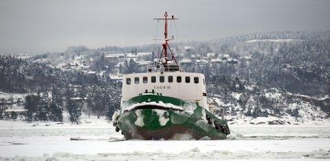 Buksér og Berging AS har driftet Thor III for Drammen Havnevesen siden 1966.