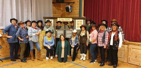 Aktørene i Tordenskjold Songlag gleder seg til countrykveldene som arrangeres kommende helg.