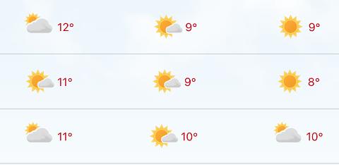 Det blir sol og hvite skyer i enda noen dager på Nordmøre.