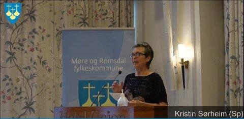 Kristin Sørheim oppfordret til et samarbeid med Trøndelag for å utvikle nye næringer i havrommet.