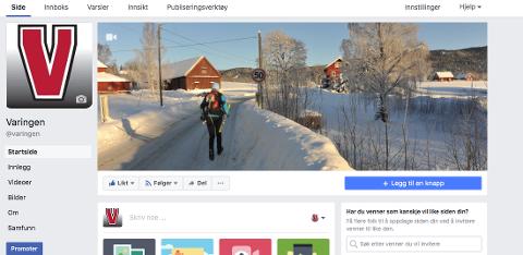 ENDELIG. Mange syns det var på tide at vi kom oss på Facebook vi i Varingen og. Og nå er vi der.