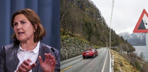 Ingrid Dahl Hovland, vegdirektør, mener en må se på billigere løsninger enn K5 Arna-Voss til 50 mrd.