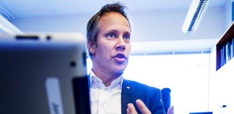 Viktig grunnlag: Jon-Ivar Nygård ser få utfordringer i budsjettet slik rådmannen foreslår det. – Det er et viktig grunnlag for videre diskusjoner, sier han. Foto: