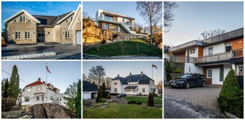 Dette er de fem dyreste boligene som ble omsatt i Fredrikstad i fjor. Tre av boligene ligger på Kråkerøy.