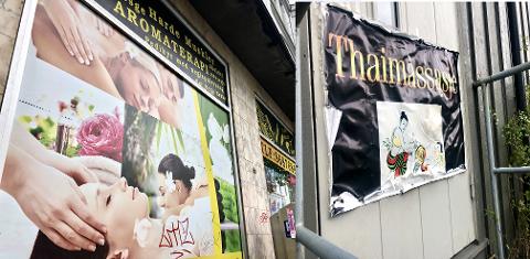REDDET UT: En av kvinnene som jobbet ved en thaimassasjesalong i Grenland, fikk hjelp til å komme ut av situasjonen hun var i på massasjesalongen etter at politiet ga sexbøter til en grenlandsmann etter prostitusjon i salongene.