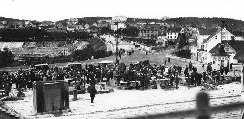 Den gamle broen mellom Frydenlund og Oscarsborg.