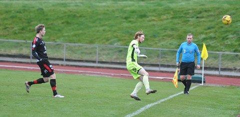 Thomas Johansen var ofte i aksjon utenfor egen 16 meter.