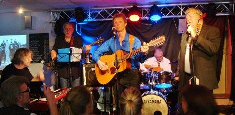 TILBAKE: Einar Mowinckel Band opplevde et «helt tråka» Gregers under sin Eagles-konsert før påske. Nå blir det ekstrakonsert. Foto: Privat
