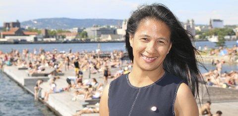 Viktig: – Kompetanse om hvordan du skal kunne redde deg selv og andre i utemiljøer i naturen er livsviktig, sier president i Norges Livredningsselskap (NLS), Claire Ann Alfonso. Pressefoto