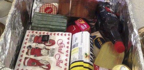 Julekurv: Julekurvene har gledet mange mottakere gjennom flere år. Du kan være med å bidra.
