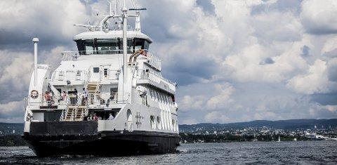 KAN RAMME FERGA: Streik i transportnæringen vil ramme nesoddbåten.
