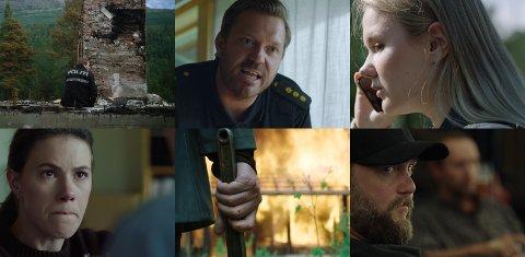 NY KRIMSERIE: Krimserien Outlier er produsert og laget i Norge med norske skuespillere. Alle åtte episodene blir tilgjengelig hos Namdalsavisa og Amedia-avisene fra 1. desember.