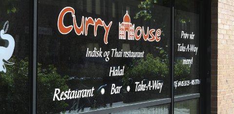 KONKURS: Curry House restaurant er begjært konkurs. Det er andre gang eierne av restauranten går konkurs. FOTO: KARIN HANSTENSEN