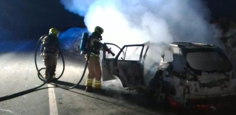 Rana brann og redning rykket ut til brannen.