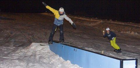 Åpner: Ringkollen alpin åpner langt tidligere enn i fjor. Denne helgen er deler av anlegget åpent.Foto: Privat