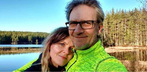 """VELLYKKET: Trond Ole Ottesen, og kona Lene, tok initiativ til arrangementet """"17. mai på elva""""."""