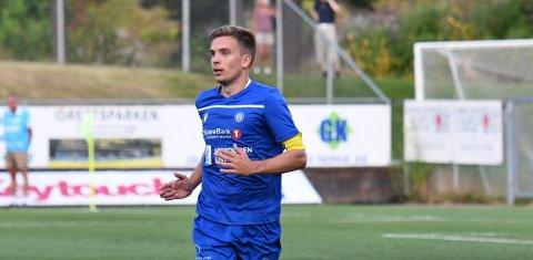 VIDERE: NFK-kaptein Henrik Gustavsen tar gjerne et topplag på hjemmebane i 2. runde av NM.
