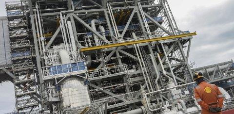 Ny kompressor: Den nye kompressoren på Nyhamna vil utvide eksportkapasiteten på anlegget.