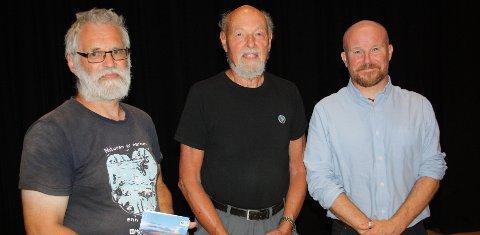 Sentrale personer: Øystein Folden (fra venstre), Eirik Gudmundsen og Jørgen Kochbach Bølling.