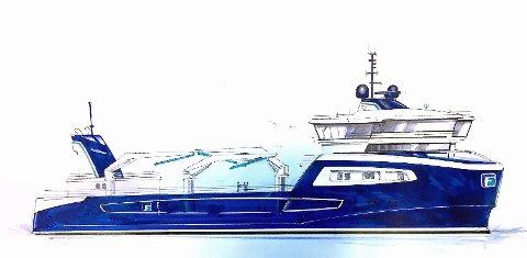 ABB leverer hybrid kraftsystem til FrøyGruppens nye brønnbåt - som er designet av Møre Maritime.