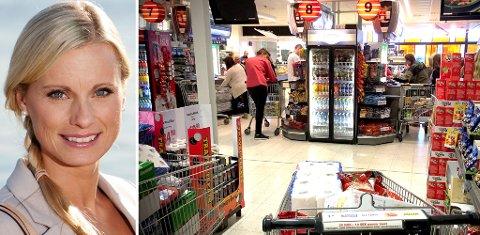 Ikke alt er billigere i Sverige enn i Norge. Forbrukerøkonom i DNB, Silje Sandmæl, har plukket ut sine favorittkjøp på harrytur. Foto: Magnus Blaker / DNB (Mediehuset Nettavisen)
