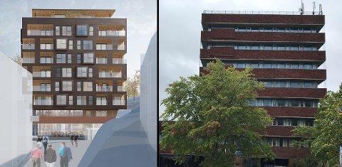 NÆRING, IKKE BOLIG: Tønsberg har en fortettingsstrategi for bolig i sentrum, men til nå ingen strategi for kontor. Plan og bygningsetaten jobber derfor sammen med næringssjefen for å rette på dette, skriver Martin Hay