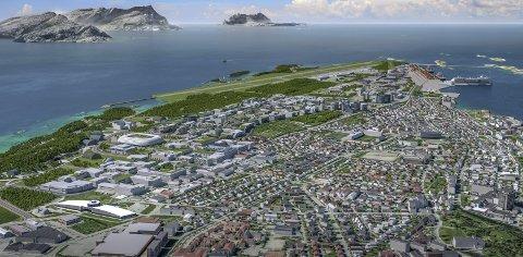 Den nye byen krever tålmodighet og utålmodighet, mener Odd Emil Ingebrigtsen, direktør i Brus.