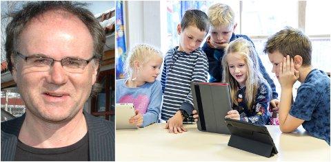 DIGITAL KOMPETANSE: Skolesjef Trond Johnssen henviser til nasjonale føringer for å gi elevene digital kompetansen. Hans skriver: Det har nok vært en naiv tro på at verktøyet i seg selv vil øke kvaliteten på opplæringen. Det handler i stor grad om hvordan hjelpemidler brukes.