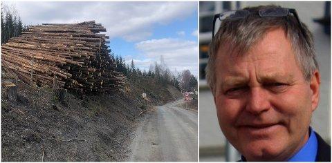 BEKYMRET FOR RAS: Dag Lindheim var så bekymret for sikkerheten i Bjørgevegen i Lunner at han valgte å kontakte politiet.