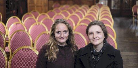 Tilbake: Elisabeth Turmo og Elene Toponogova inntar Kulturverkstedet i Mosjøen tirsdag, og i høst skal de begynne innspillingen til CD-platen.