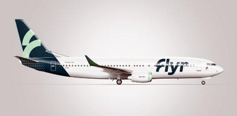 AV MED MUNNBINDET: Flyselskapet Flyr fjerner munnbindkravet.