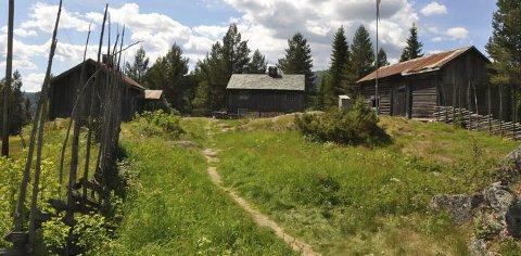 Kan fredes: Bagnsbergene gård i Sør-Aurdal var åsted for kraftige kamper i april 1940. Foto: Oppland fylkeskommune