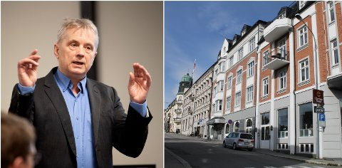 LOVORD: Statsforvalter Knut Storberget benyttet torsdagens kommunemøte til å rose de som bidrar med karantenehotell.