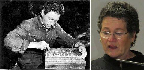Moritz Nachtstern var typograf, noe som reddet ham fra døden i Auschwitz. Datteren Sidsel Nachtstern mener norske skoleelever bør kunne historien om andre verdenskrig.