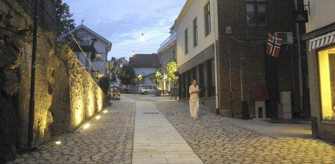 Defekt I: Gatebelysningen i Hovedgata og Hulgata lyser ikke når det skal, og presterer stort sett bare blink.Arkivfoto