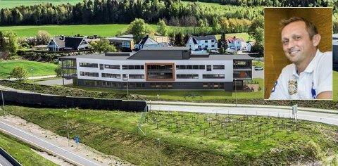 REGIONAL AKTØR: Cosmic Bygg AS og daglig leder Bjørn Vidar Eriksen (innfelt) driver entreprenørvirksomhet, men er også inne som eier i en rekke eiendommer. Tassebekk Office Center er en av dem.