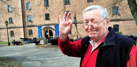 Høyt elsket: Rolv Wesenlund var stolt av alt som hadde med Horten å gjøre, særlig Marinemusikken og Marinemuseet.