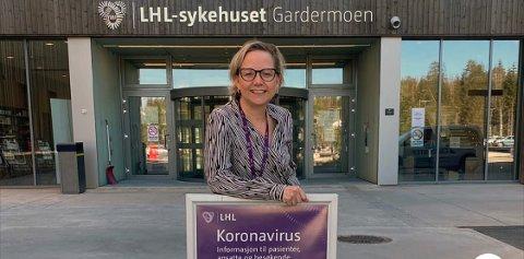 MOT KONGSVINGER: Jane Beate Moe Castro er ny sykehuskoordinator på Ahus i Kongsvinger.