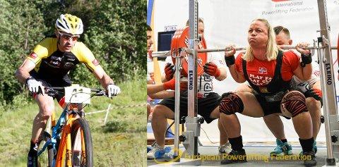 PÅ TOPP: Både Yngvar Alexander og Runi Hammerø Sparby er i norgestoppen i sine klasser, og nå har de hentet hjem medaljer i europamesterskapet i sine idretter.