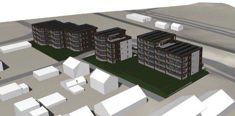 Alfheim Oase vil se omtrent slik ut nr byggetrinn 1 og 2 er ferdig, etter tegninger fra 2018.