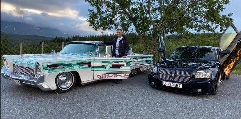 Jan-Runes amerikanske biler skiller seg ut både av utseende og modell.
