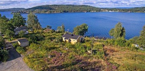 SOLGT: Et eiendomsselskap fra Moss har kjøpt denne tomten for 8,5 millioner kroner.