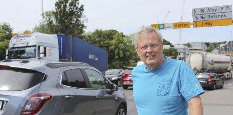 VALG: Personlig ønsker jeg også et bilfritt sentrum etterhvert, skriver Tomas Colin Archer (Ap).  Foto: Helge Warberg-Knoll