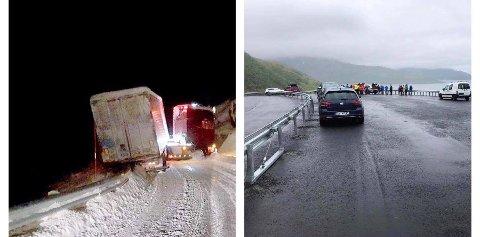 FORSKJELLER: Ja, dette er samme vei. Bildet til venstre er for to år siden. Bildet til høyre ble tatt i dag.