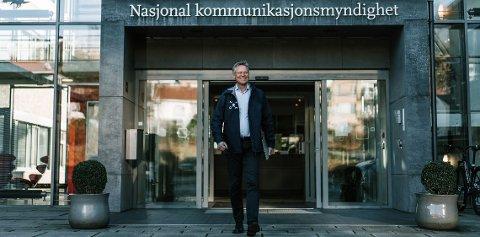 Nasjonal kommunikasjonsmyndighet og direktør Pål Wien Espen undersøker nå markedet for kontorlokaler i Tromsø. En stilling som ingeniør for tilsyn med frekvensbruk i Nord-Norge er allerede lyst ut.