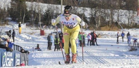 22. plass: Velte Thyli staket inn til 22. plass i Beitosprinten.