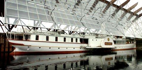 REPARERES: Skibladnerhuset repareres, og får 160.000 i tilskudd fra stiftelsen UNI