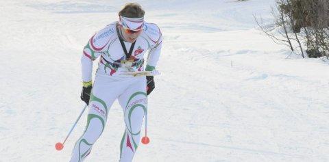 Fjerdeplass: Bjørnar Kvåle fra Brandbu ble nummer fire på sprintstafetten i VM i ski-o sammen med Evine Westli Andersen.